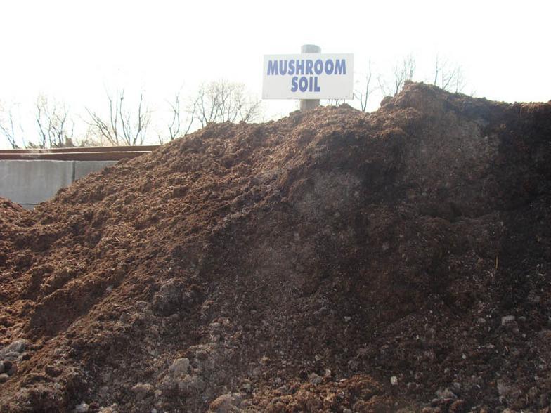 Klaumenzer 39 s 309 mulch yard for Mushroom soil